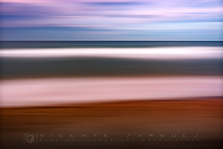 Playa abstracto