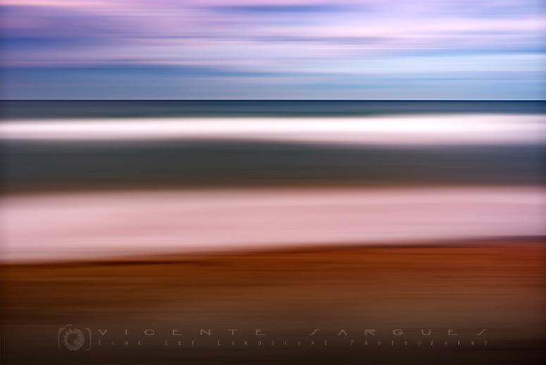 Playa abstracto