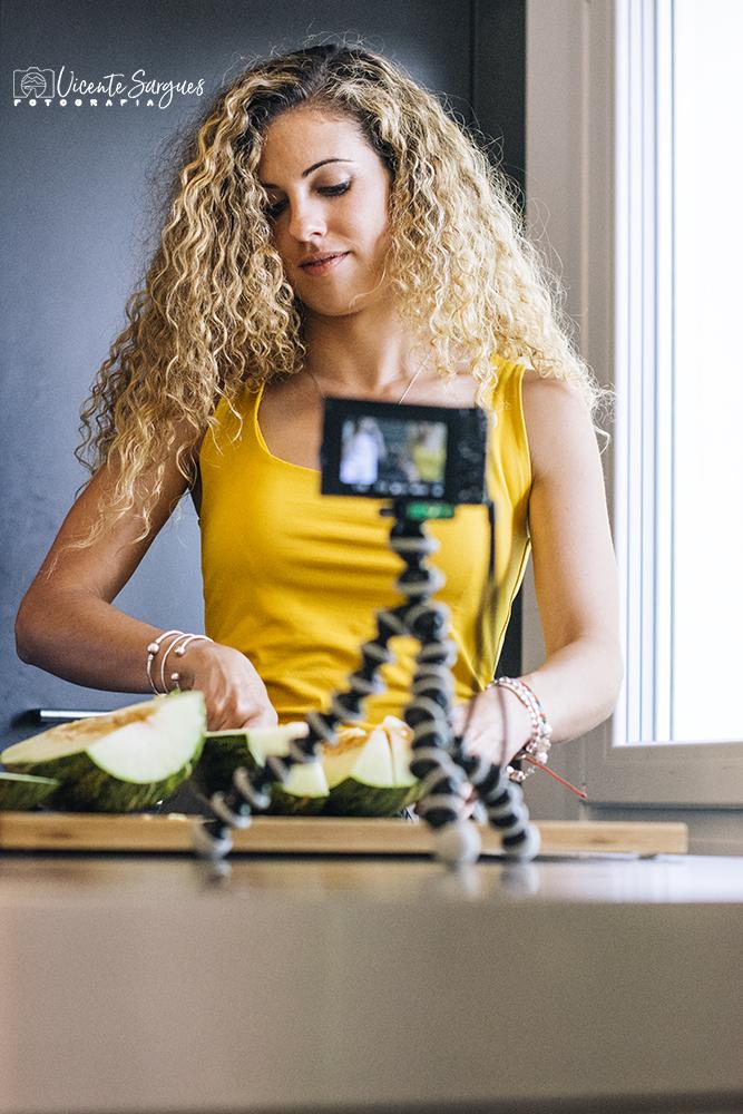 Vloggers en cocina