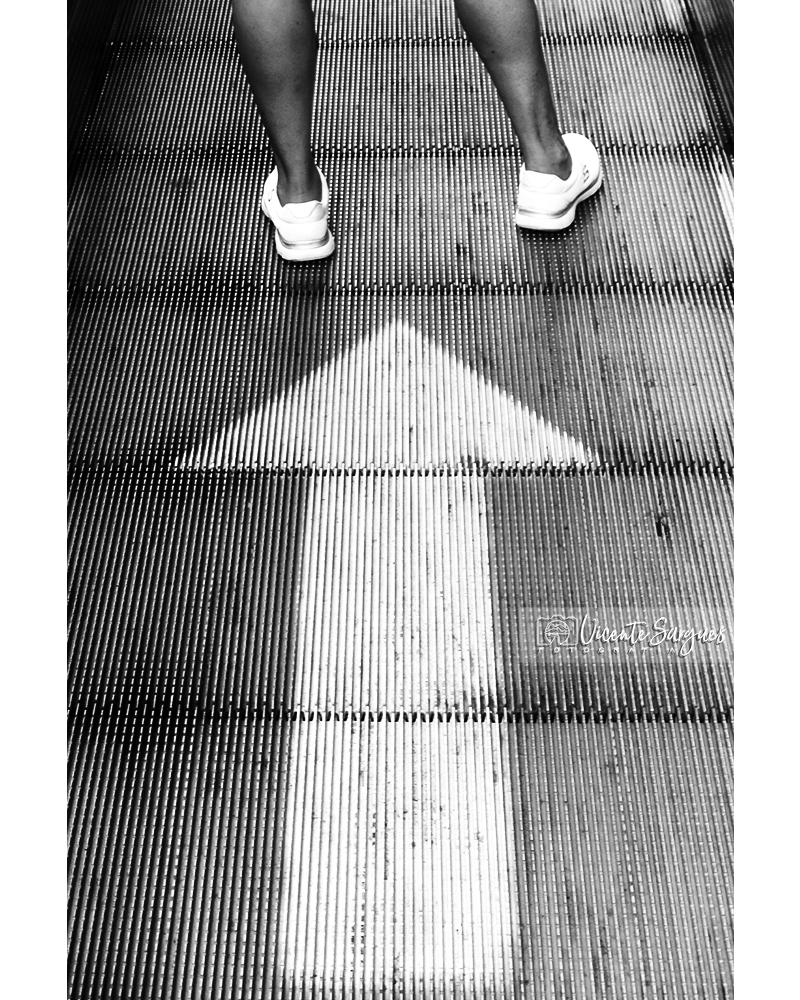 Flecha y pies