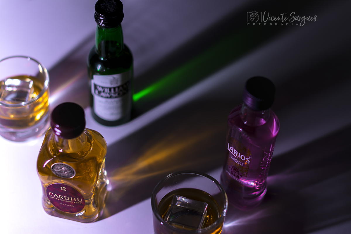 Botellines y sombras