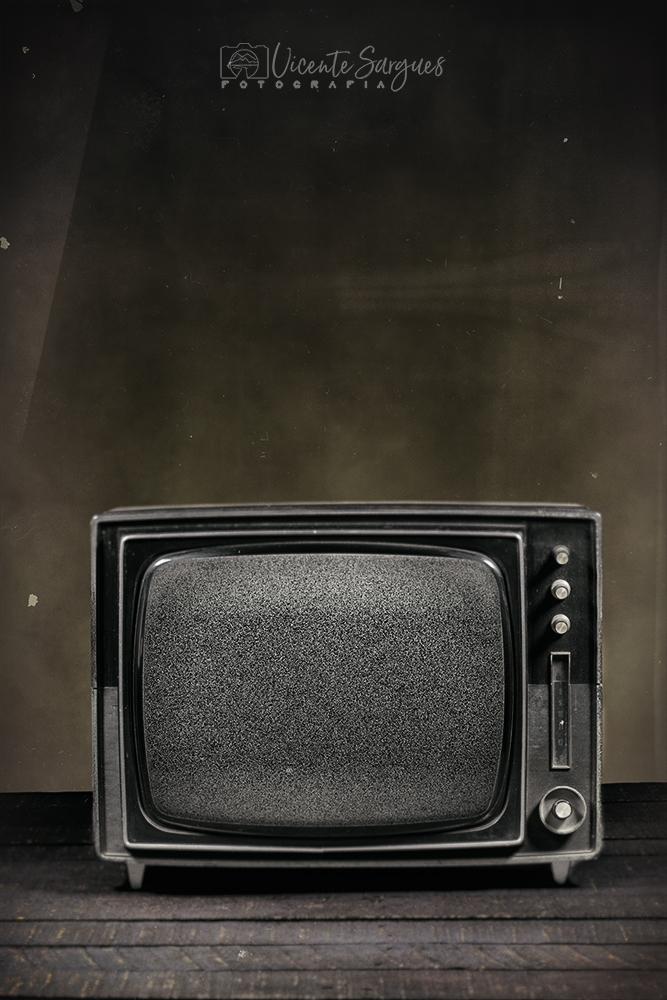 Televisión portátil antigua