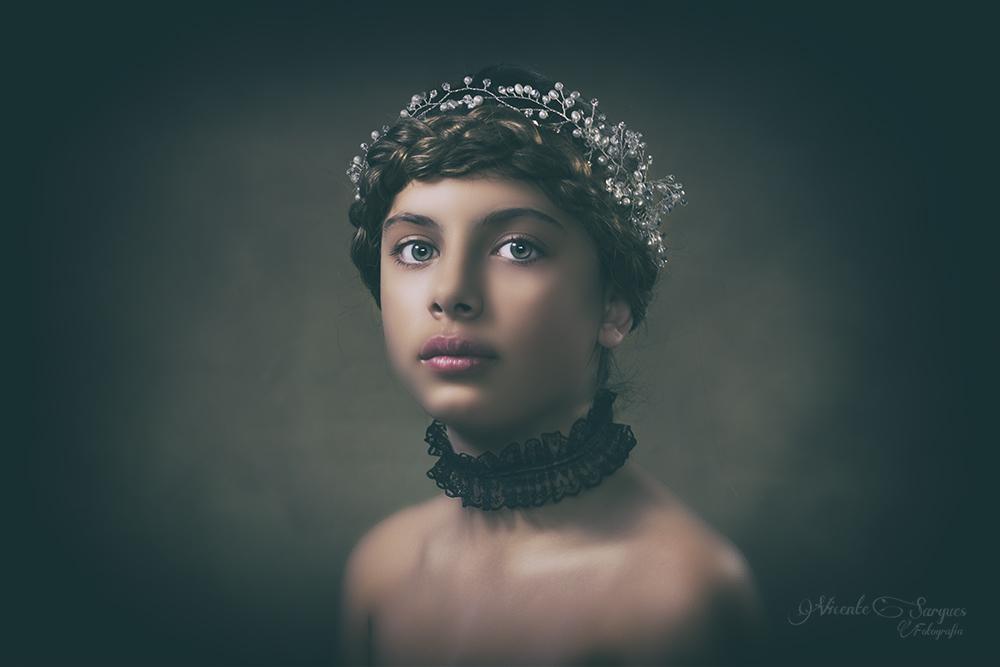 Retrato infantil clásico