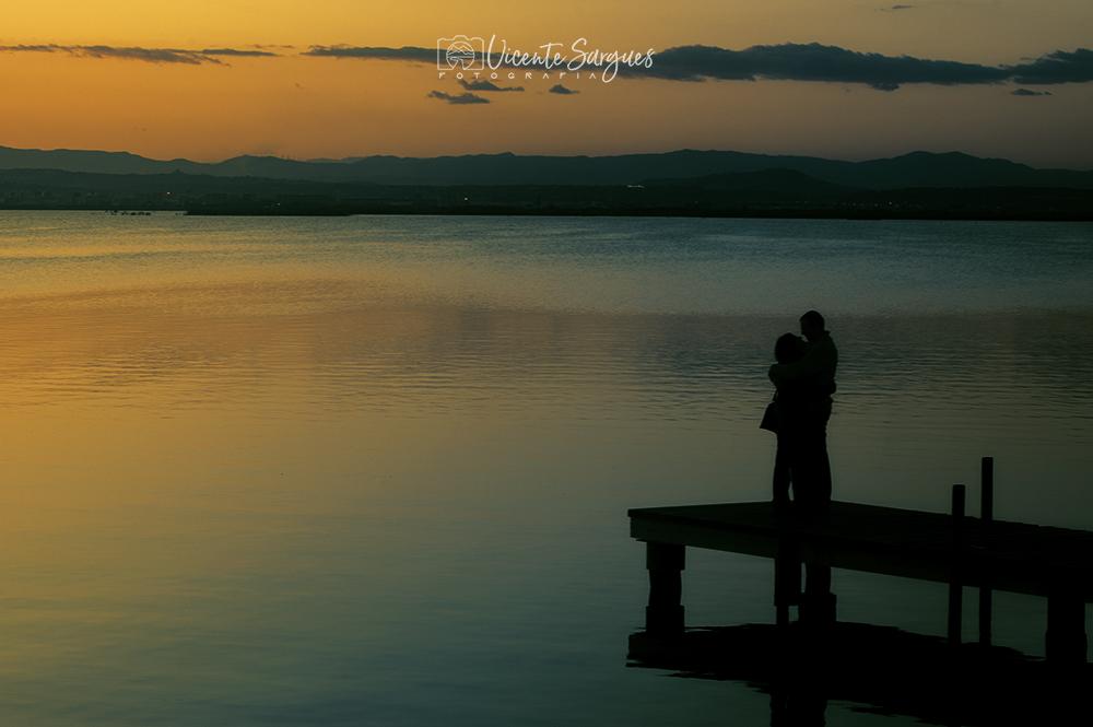 Amor junto al lago