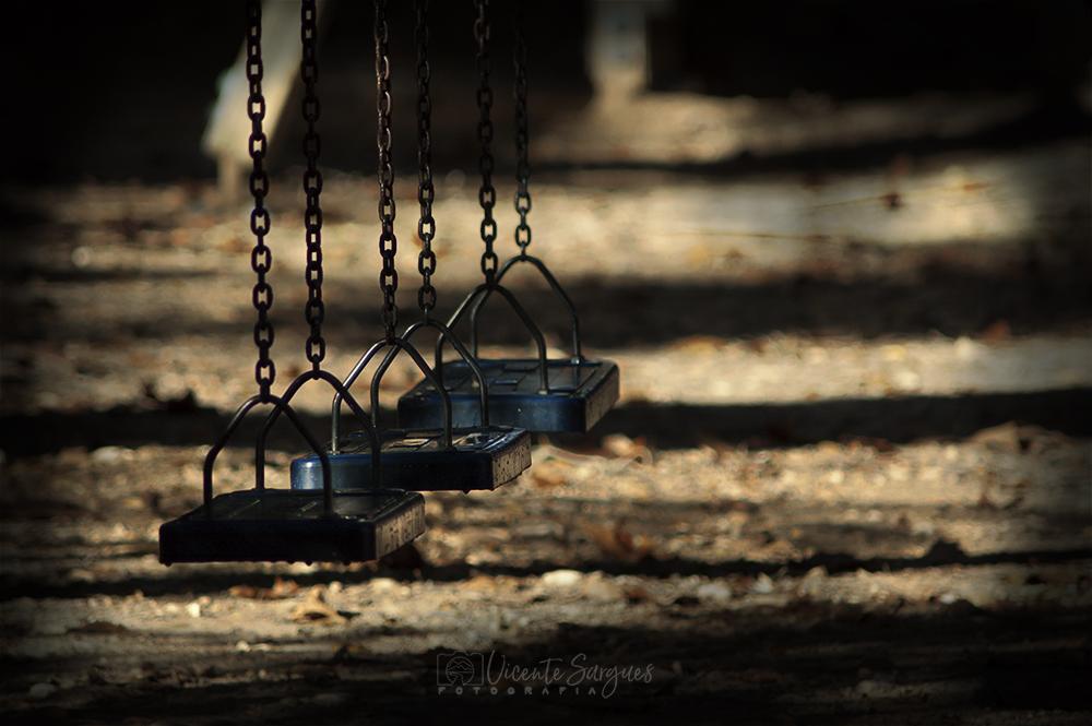 Columpios abandonados