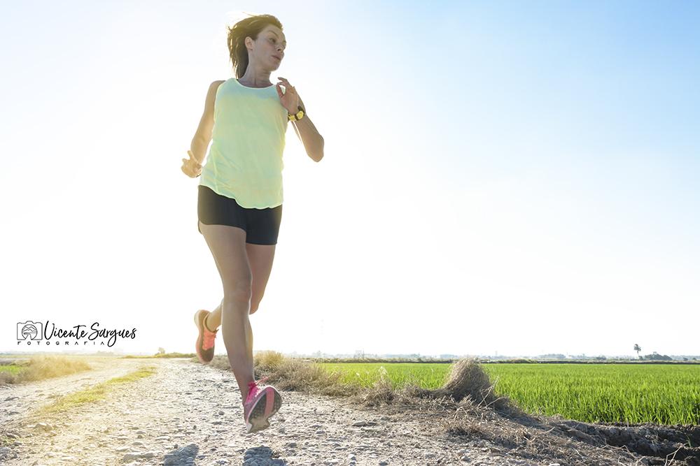 Running entre arrozales